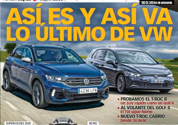 ASÍ ES Y ASÍ VA LO ÚLTIMO DE VW
