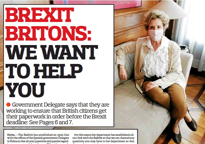 BREXIT BRITONS: WE WANT TO HELP YOU