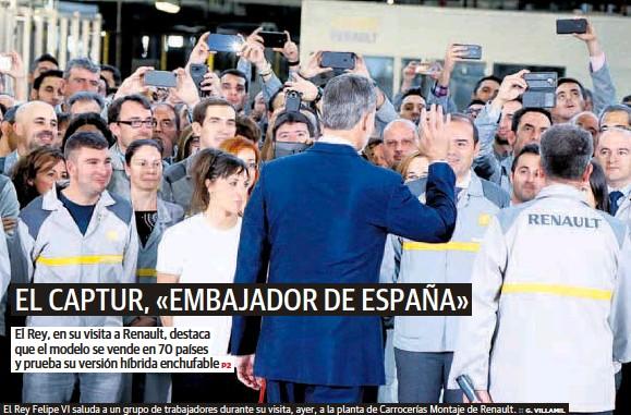 EL CAPTUR, «EMBAJADOR DE ESPAÑA»