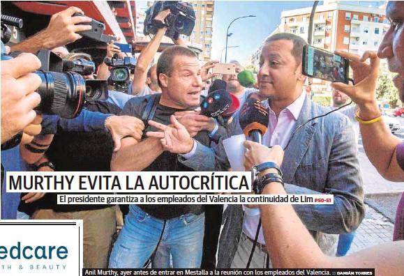 MURTHY EVITA LA AUTOCRÍTICA