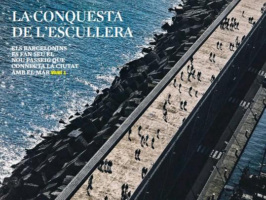 LA CONQUESTA DE L'ESCULLERA