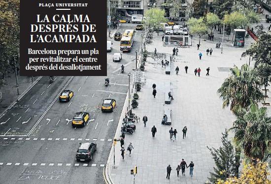 LA CALMA DESPRÉS DE L'ACAMPADA
