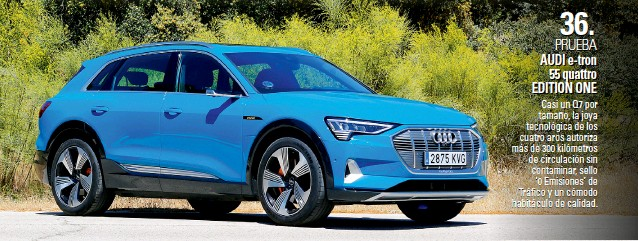 AUDI E-TRON 55 QUATTRO ED ITION ONE