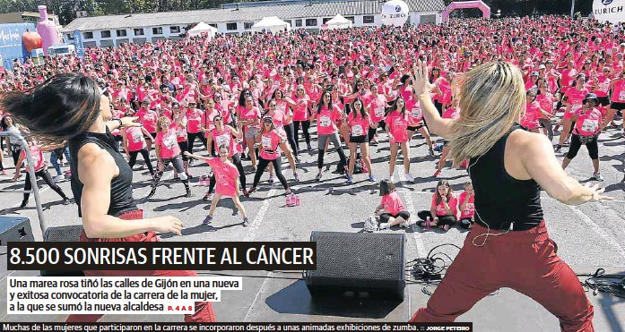 8.500 SONRISAS FRENTE AL CÁNCER