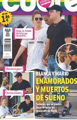 BLANCA Y MARIO ENAMORADOS Y MUERTOS DE SUEÑO