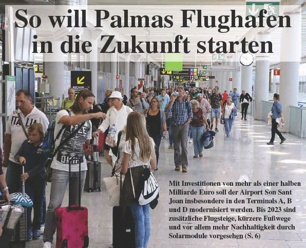 SO WILL PALMAS FLUGHAFEN IN DIE ZUKUNFT STARTEN