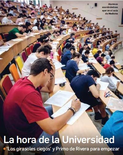 2-3 LA HORA DE LA UNIVERSIDAD