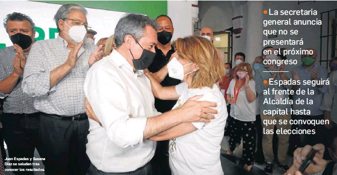 SÁNCHEZ LOGRA EL CAMBIO EN EL PSOE ANDALUZ CON EL CLARO TRIUNFO DE ESPADAS