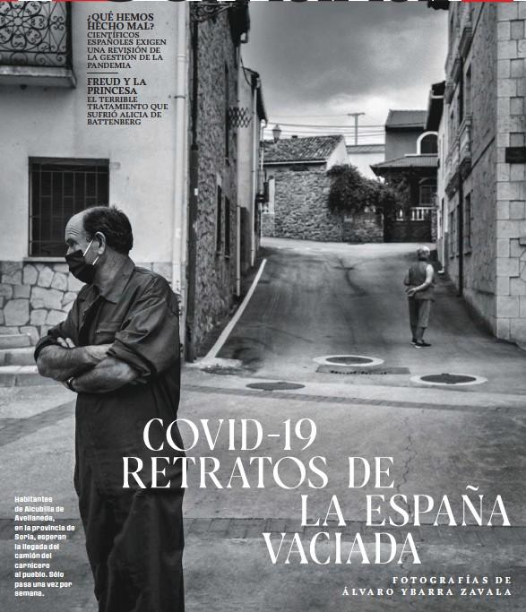 COVID-19 RETRATOS DE LA ESPAÑA VACIADA