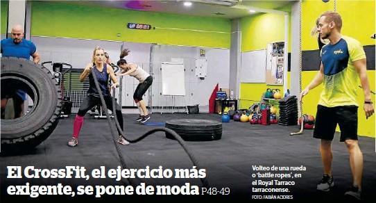 EL CROSSFIT, EL EJERCICIO MÁS EXIGENTE, SE PONE DE MODA