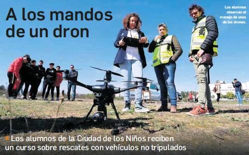 A LOS MANDOS DE UN DRON