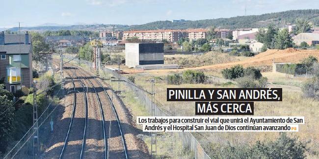 PINILLA Y SAN ANDRÉS, MÁS CERCA