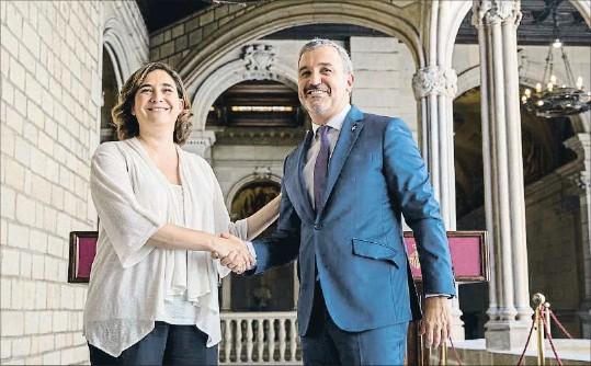 LA SEGURETAT, PRIORITAT DEL NOU GOVERN DE BARCELONA