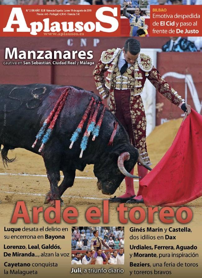 ARDE EL TOREO