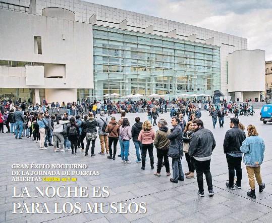 LA NOCHE ES PARA LOS MUSEOS