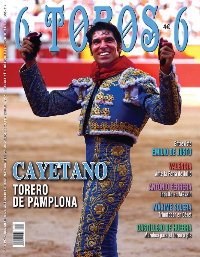 CAYETANO TORERO DE PAMPLONA
