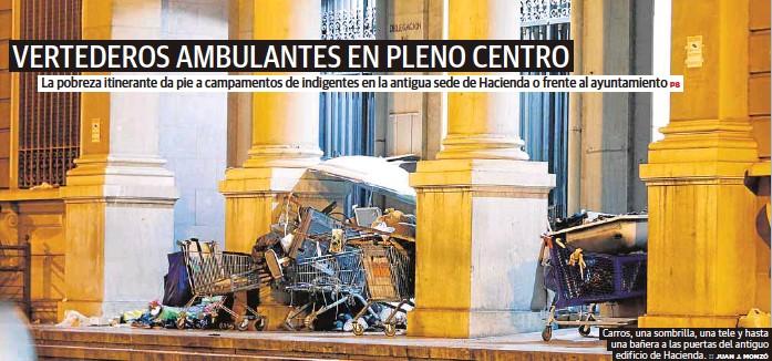 VERTEDEROS AMBULANTES EN PLENO CENTRO