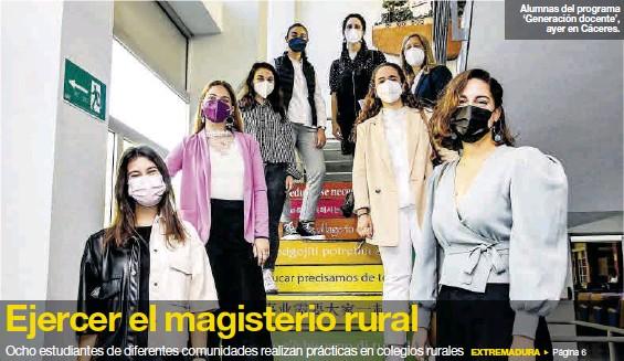 EJERCER EL MAGISTERIO RURAL
