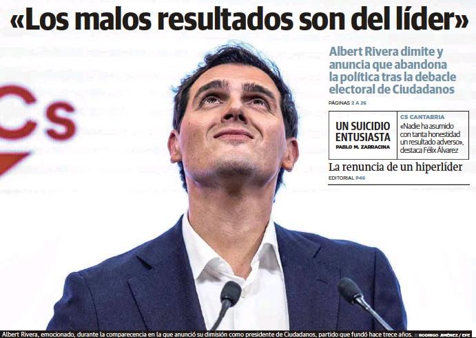 «LOS MALOS RESULTADOS SON DEL LÍDER»