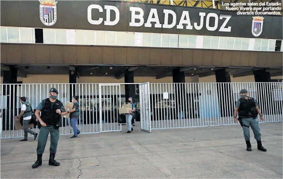 DETENIDO JOAQUÍN PARRA, DUEÑO DEL CD BADAJOZ, POR FRAUDE FISCAL