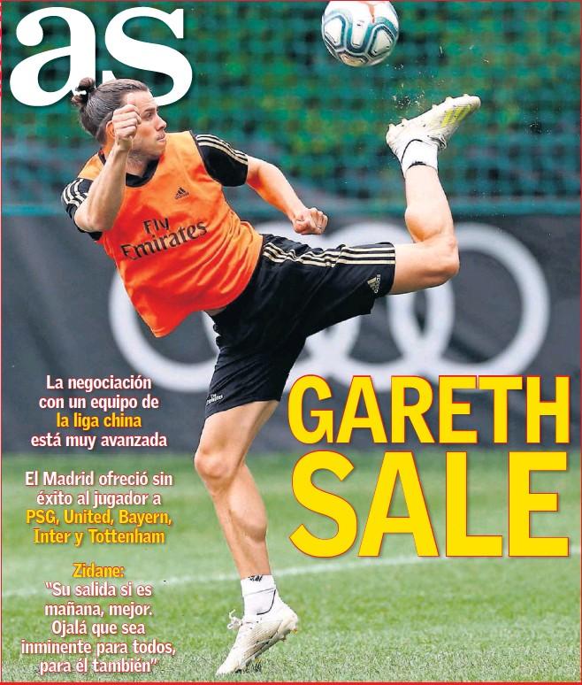GARETH SALE