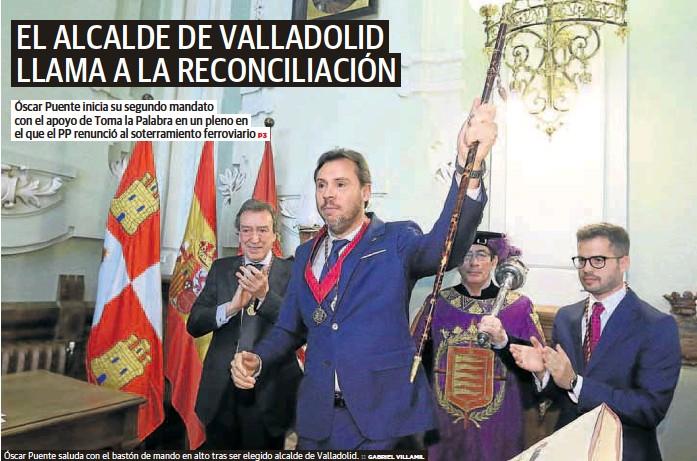 EL ALCALDE DE VALLADOLID LLAMA A LA RECONCILIACIÓN