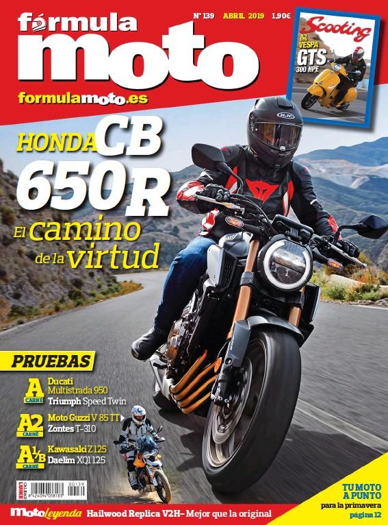 HONDA CB 650R EL CAMINO DE LA VIRTUD