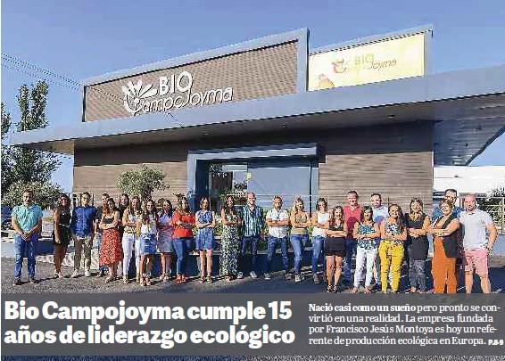 BIO CAMPOJOYMA CUMPLE 15 AÑOS DE LIDERAZGO ECOLÓGICO