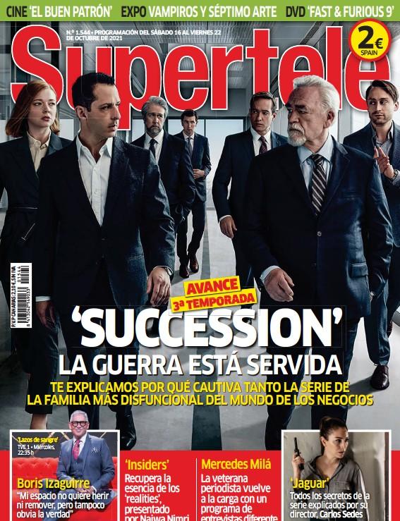 'SUCCESSION' LA GUERRA ESTÁ SERVIDA