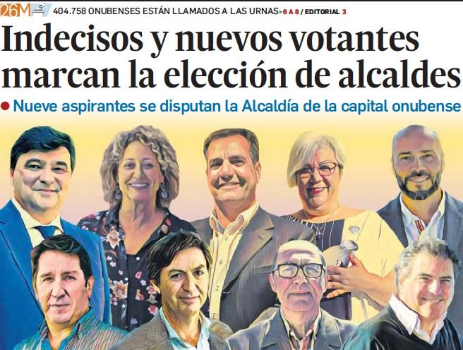 INDECISOS Y NUEVOS VOTANTES MARCAN LA ELECCIÓN DE ALCALDES