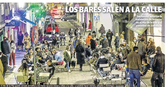 LOS BARES SALEN A LA CALLE