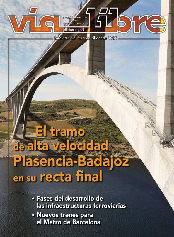EL TRAMO DE ALTA VELOCIDAD PLASENCIA-BADAJOZ EN SU RECTA FINAL
