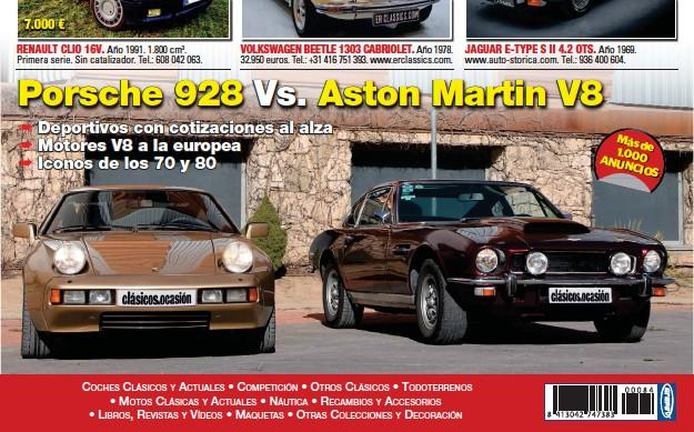 PORSCHE 928 VS. ASTON MARTIN V8