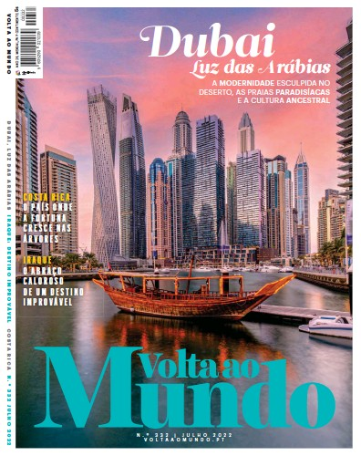 Front page of Volta ao Mundo newspaper from Portugal