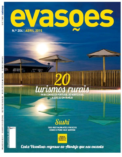 Front page of Evasoes newspaper from Portugal