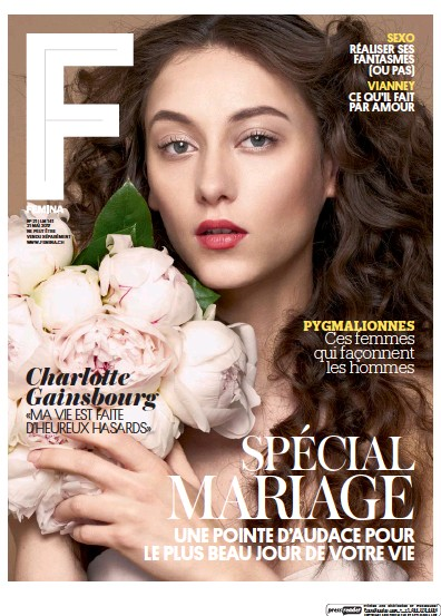 Front page of Femina newspaper from Switzerland