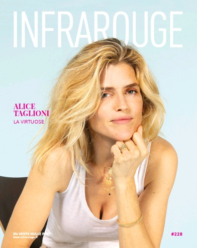 Front page of Infrarouge newspaper from France