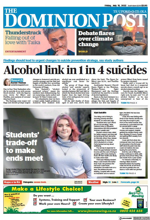 Read full digital edition of The Dominion Post Digital edition newspaper from New Zealand