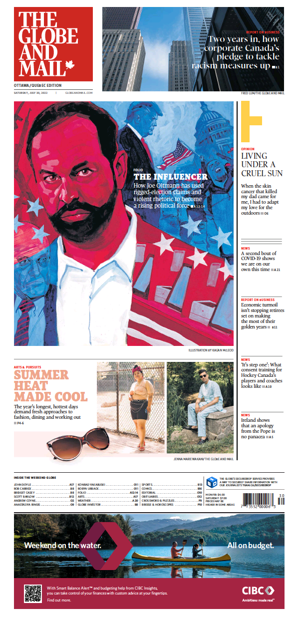 Read full digital edition of Globe and Mail newspaper from Canada