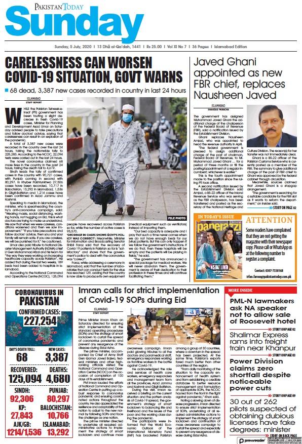 Read full digital edition of Pakistan Today (Islamabad) newspaper from Pakistan