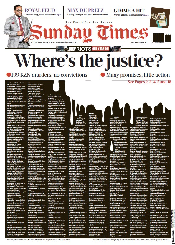 Read full digital edition of Sunday Times of Johannesburg newspaper from South Africa