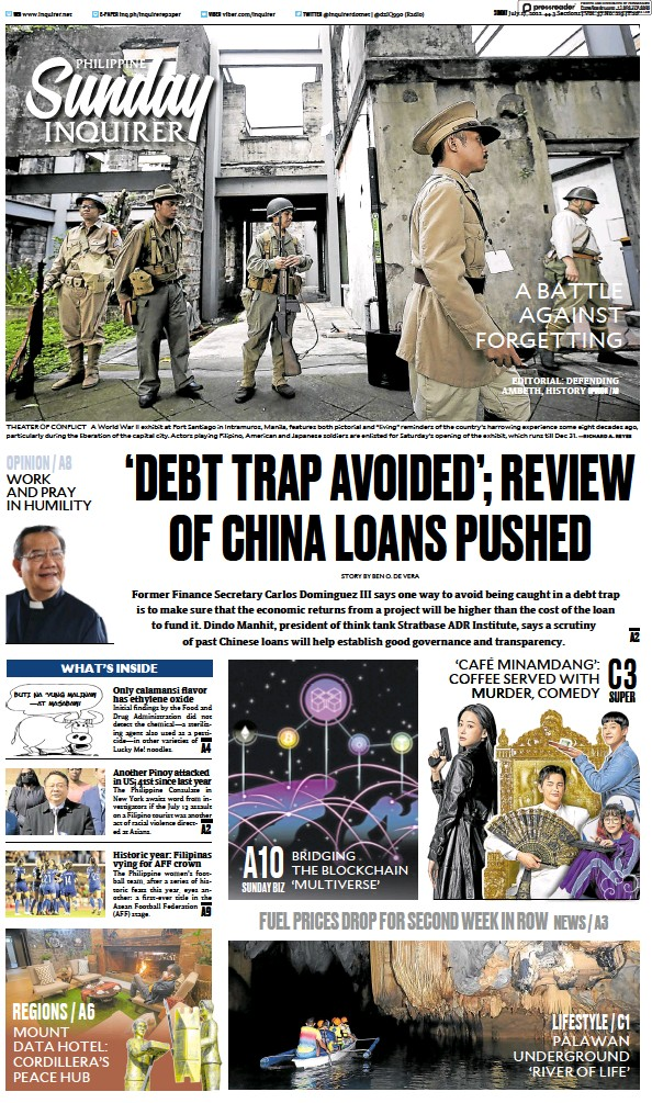 Read full digital edition of Philippine Daily Inquirer newspaper from Philippines