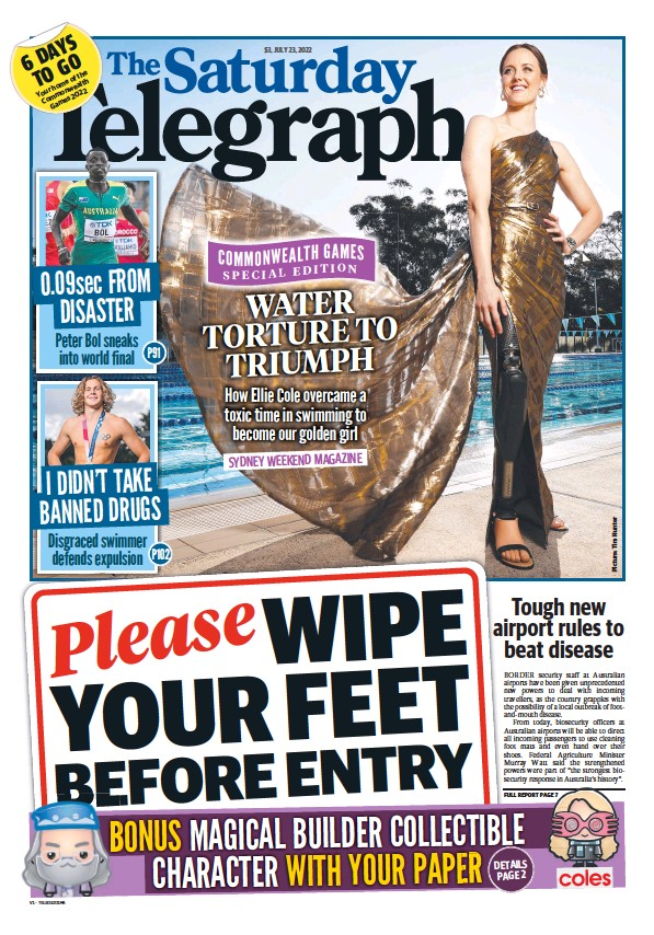 Read full digital edition of The Daily Telegraph (Sydney) newspaper from Australia