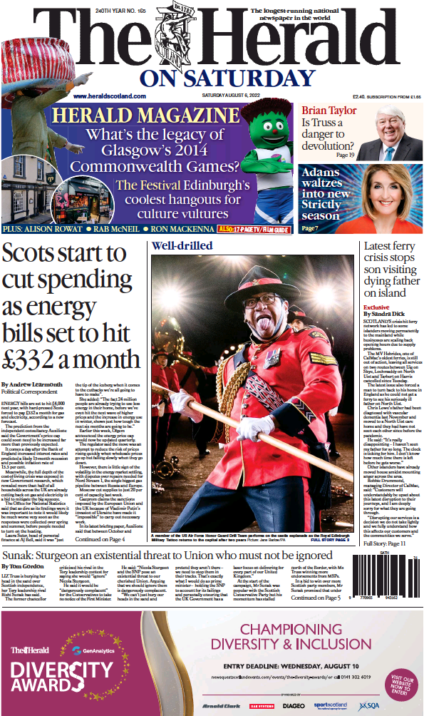 Read full digital edition of The Herald newspaper from Scotland