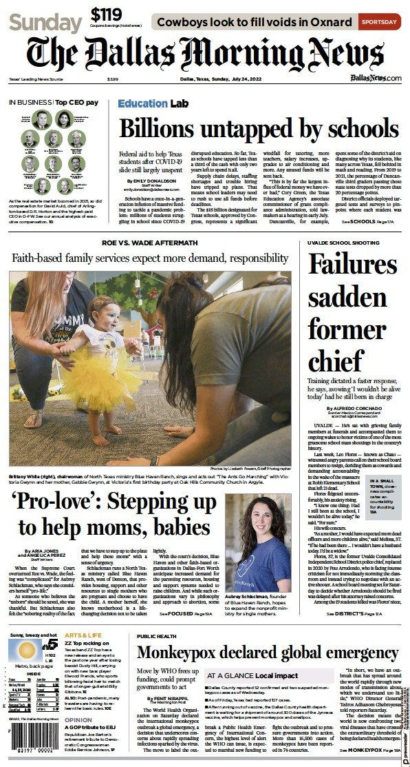 Read full digital edition of The Dallas Morning News newspaper from USA