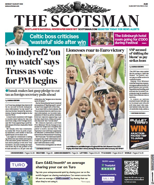 Read full digital edition of The Scotsman newspaper from Scotland