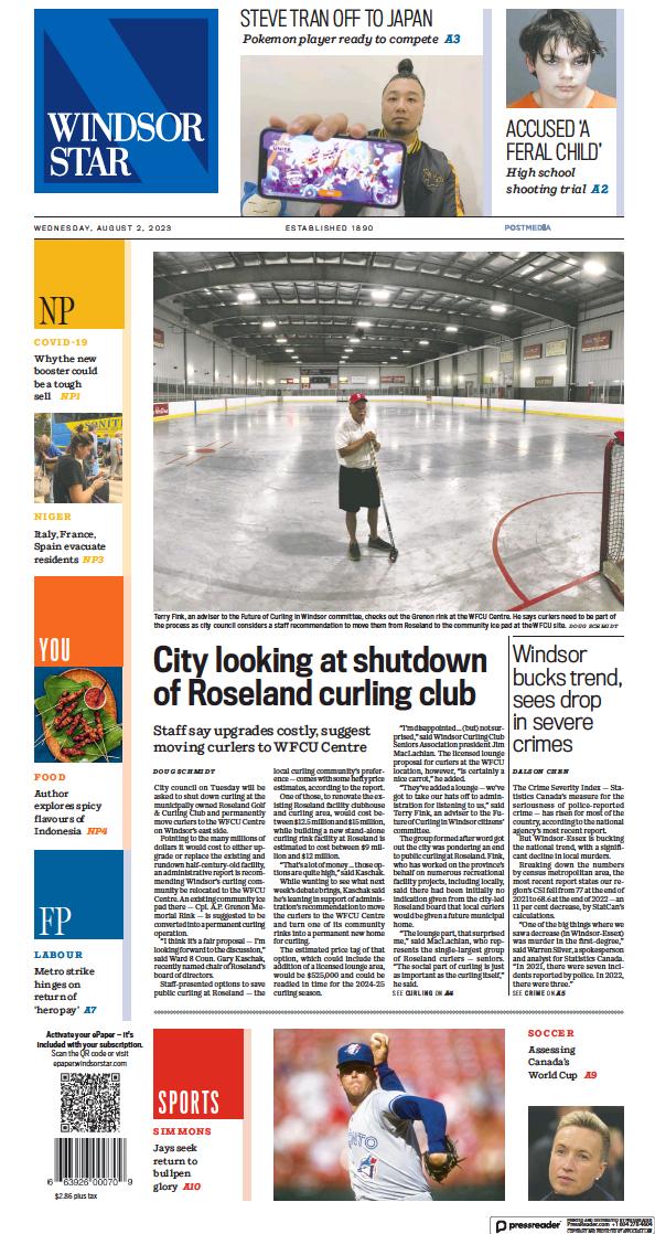 Read full digital edition of Windsor Star newspaper from Canada