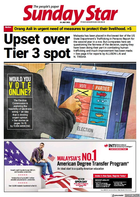 Read full digital edition of The Star Malaysia newspaper from Malaysia