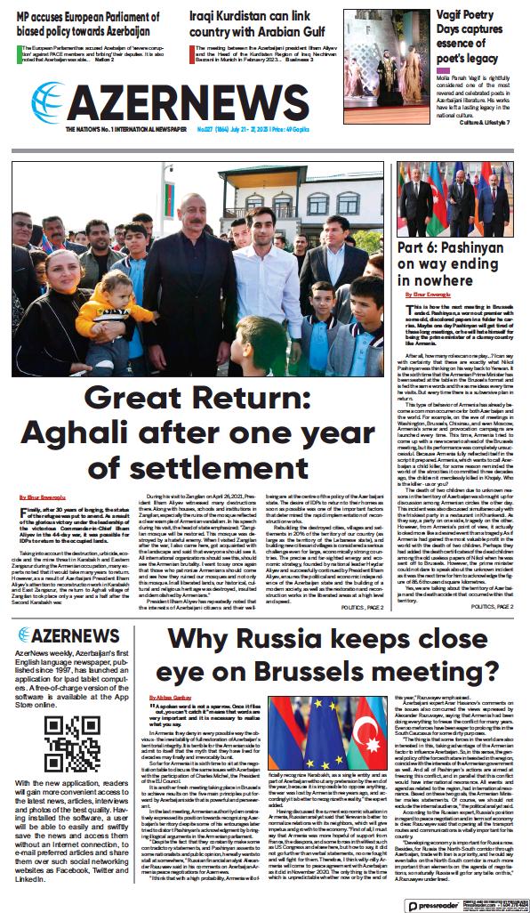 Read full digital edition of Azer News newspaper from Azerbaijan