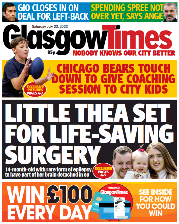 Read full digital edition of Evening Times Online newspaper from Scotland